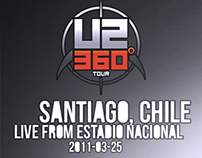 U2 360 CHILE CAM MIX  2011 DVD