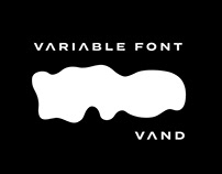 VAND A VARIABLE FONT