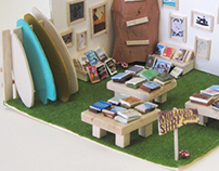 Mollusk Surf Shop Trade Show Booth