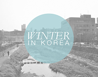 -Winter in Korea-