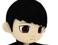 Chibi Me 3D model