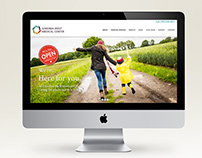 Sonoma West Medical Center website design