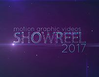 Graphical Videos SHOWREEL 2017