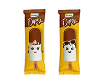 IGLOO — Dipsy Choco Lolly Packaging