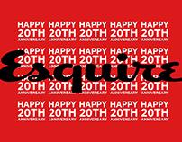Esquire 20th Anniversary - Korea