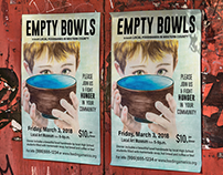 """EMPTY BOWLS"" Institutional Illustration"