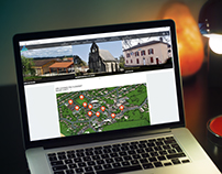 Carte interactive pour le site de Saint Just le martel