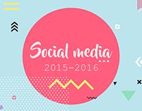 Social Media Content 2015-2016