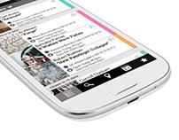 Mobile App and Website Design: Arts in Chelsea