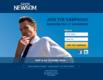 Gavin Newsom for Lt. Governor of California