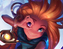 Zoe - League of Legends - Login Screen