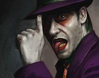 Fan-art on Joker by Jared Leto