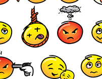 Emoticon / Smiley set