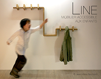 """Line"" Mobilier accessible (""Line""Accessible furniture)"
