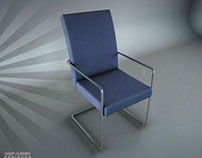 Office Chair - 3D - old design :) - cinema 4D