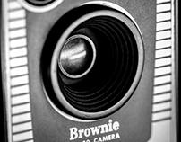 Product shot - Brownie camera