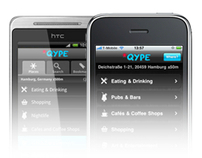 Design for Qype Mobile (iPhone/Android)