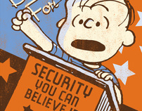 BLANKET SECURITY Linus Propaganda Art Supplement