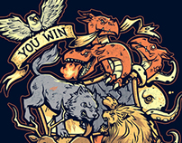 You Win or You Die - Tshirt Collaboration