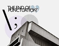 The End of Punctuation