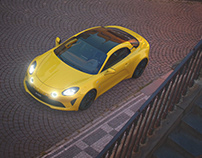ALPINE A110 / YELLOW PACKAGE