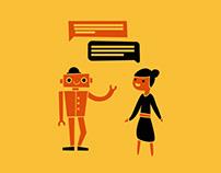 Chatbots help educate patients.