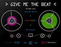 DJ's site concept 3