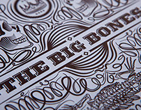 The Big Bones - CD packaging