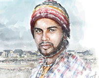 Portrait avec PS.