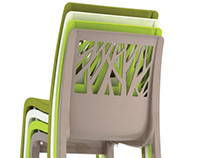 Contemporary outdoor furniture - 2012 - Grosfillex