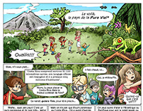 Comic: Connaisez Costa Rica (Get to know Costa Rica)