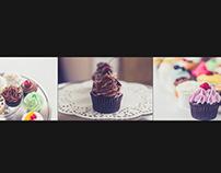 website shoot for cupcakes A Go Go