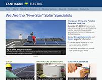 Cantiague Electric website
