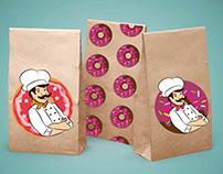 Bright donut.