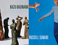 Exhibition Invite - Russell Sunabe and Kazu Kauinana