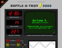 BarCamp Rochester Raffle-O-Tron 3000