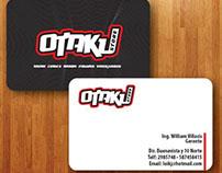 Otaku, logo y tarjetas de presentación.