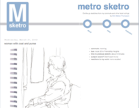 MetroSketro Personal Sketch Blog