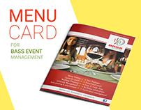 MENU CARD and LOGO
