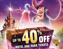 Disneyland Paris 30 Magical Days campaign flyer