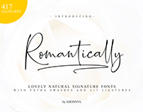 Romantically -Lovely Signature Fonts- (free Download)