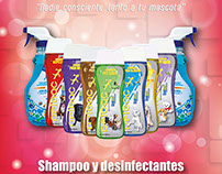 Diseño etiqueta Shampoo PETBAC