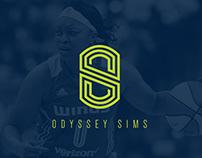 Odyssey Sims Branding & Identity
