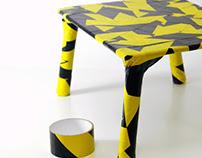antobjects custom |  Caution Tape table