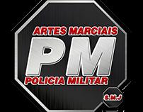 Identidade Visual - Artes Marciais Polícia Militar