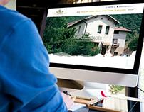 Diseño web para casa rural en Baquedano, Navarra.
