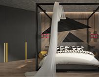 Визуализация спальни.