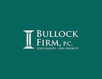 Bullock Firm, P.C. Logo Design