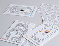 Pocket calendars for students of graphic design BFU