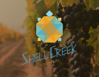 SHELL CREEK | WINE LABELS